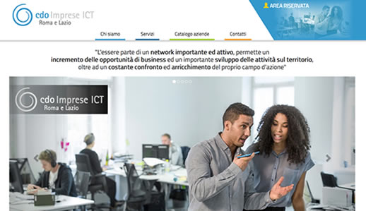 referenza di BUSINESS NETWORKING - CDO IMPRESE ICT Roma e Lazio