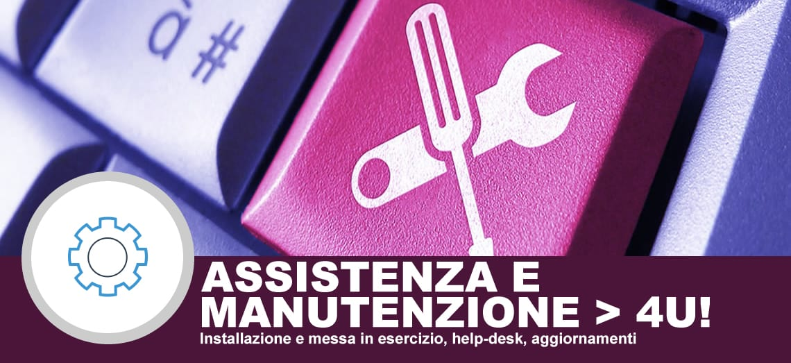 Assistenza e manutenzione software e server
