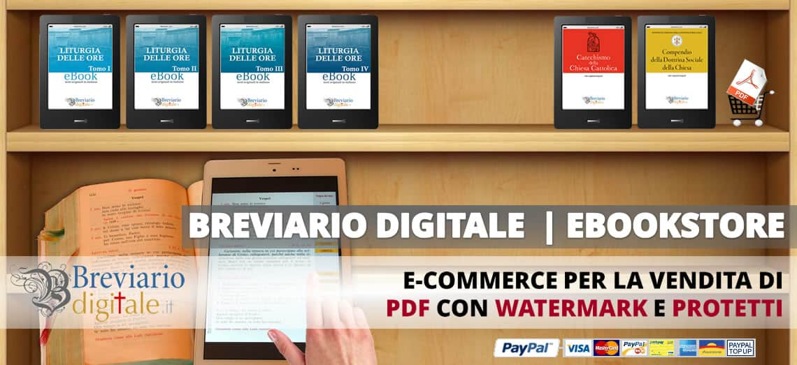 [BREVIARIO DIGITALE]: e-commerce per la vendita di eBook PDF con watermark e protetti